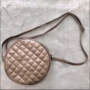 Handbags - 🔥  Metallic Copper Round Crossbody Purse 🔥